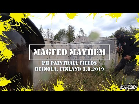 Magfed Mayhem 2019 - Finnish Magfed Paintball