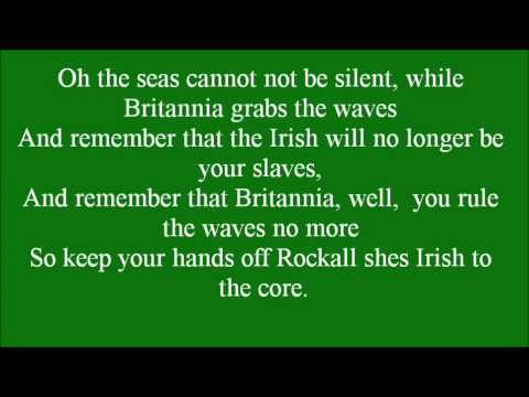 Rock on Rockall with lyrics