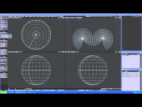 TrueArt LightWave 3D Tutorial ABF UV Unwrap With Selection Preset Manager Full HD video