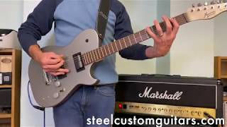 Manson MBM-1 Meta Series Matt Bellamy Signature Guitar with Sustainiac Sustainer Mod - First look
