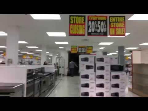 Sears Canada Carlingwood Part 2 Closing Tour 20%-50% Off Store Liquidation Sale - Second Floor 4K HD