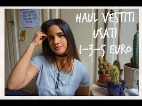 Vestiti 5 Euro.Try On Haul Vestiti Usati Da 1 3 5 Euro Acidocitrico
