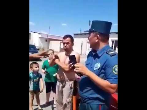 ГАИ Ходими Билан жанжал  27.07.2019
