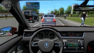 City Car Driving - Skoda Octavia 1.8 TSI Stage-1