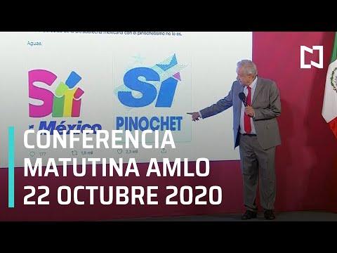 Conferencia matutina AMLO / 22 de octubre 2020