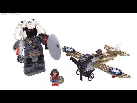 LEGO Wonder Woman Warrior Battle review! 76075