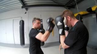 Ste zondag boks training