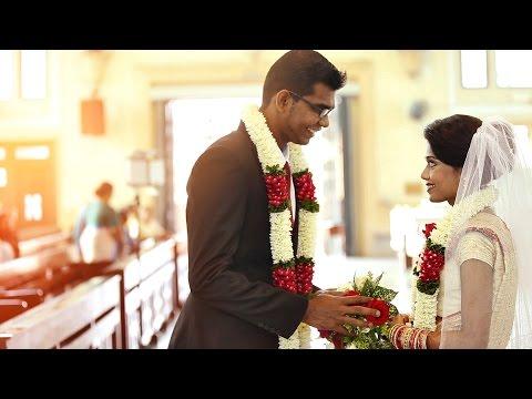 Beautiful Christian Wedding Malaysia - Fabian & Usha by Jobest Cinematography