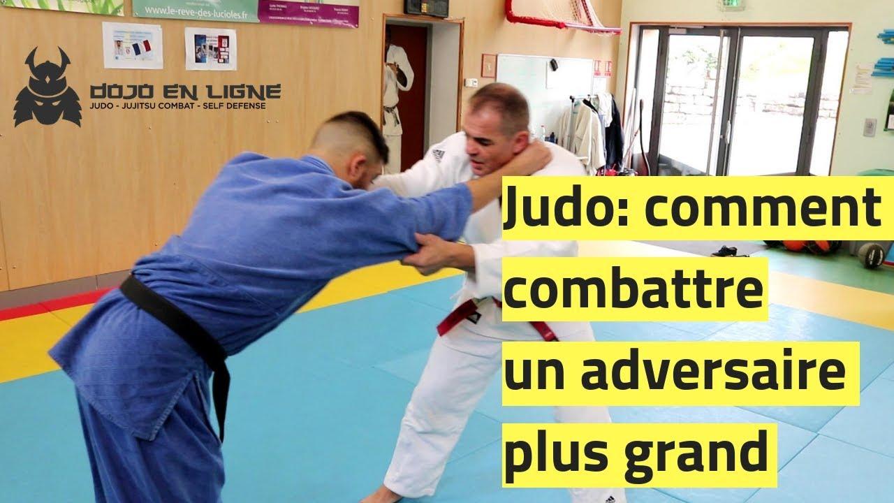 Tactique Judo: comment combattre un adversaire plus grand