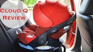 New!  2016 Cybex Cloud Q infant Car Seat REVIEW