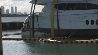Stolen Yacht (80 Hatteras MIMI) Gets Lifted From Miami Beach Marina