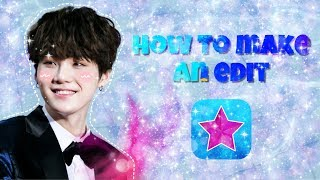 how to make an edit for beginners! || video star 🌟