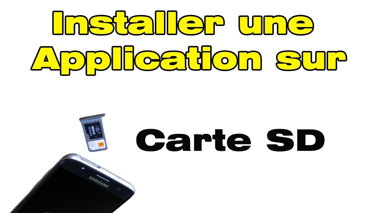 installer application sur carte sd huawei Comment installer application directement sur carte SD par défaut