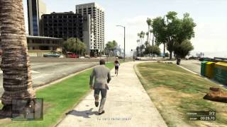 Walkthrough / Playthrough GTA 5 - Running away from you (Michael, Strangers and Freaks)