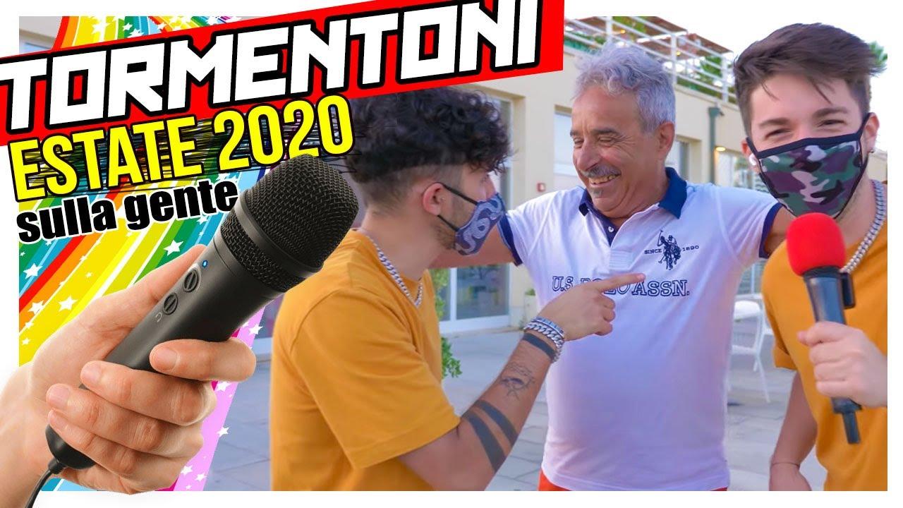 TORMENTONI (ESTATE 2020) SULLA GENTE 🎤  Matt & Bise