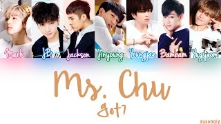 Got7 -- Ms. Chu  Mr. Chu Cover   Color Coded Han|rom|esp 《sub Español 》♥