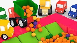 Cartoni animati per bambini: Macchinine Colorate e la piscina di palline