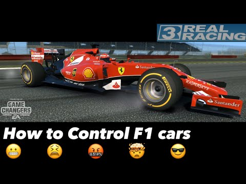 Controlling  F1 Cars In Real Racing 3