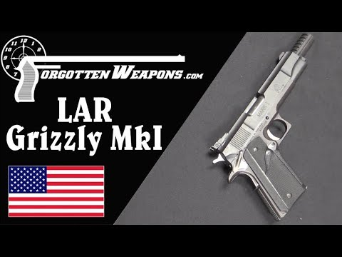LAR Grizzly: A 1911 on .45 Winchester Magnum Steroids