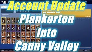 Account Update From Plankerton to Canny Valley (Level 40), Fortnite Save the World