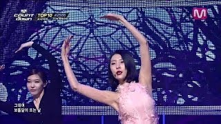 선미_보름달 feat.리나 (Full Moon by Sunmi feat Lena of Mcountdown 2014.03.06)