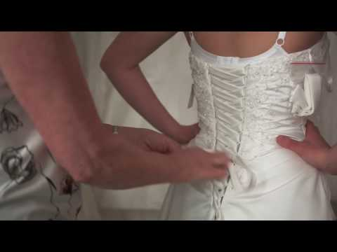 Fairytales Bridal - How to lace up a wedding dress
