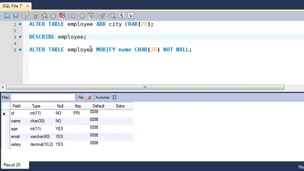 How to create alter table script in sql server 2008 - Alter table change data type sql server ...