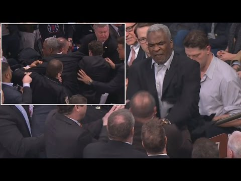 New York Knicks Legend Charles Oakley Charged With Assault For Fight At Game