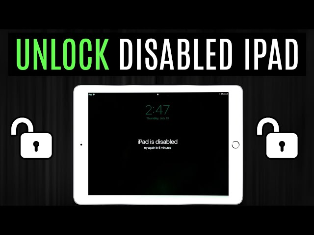 How to Unlock Disabled iPad Without Passcode or iTunes 2021