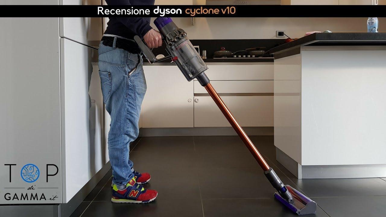 Recensione Dyson V10 Absolute Addio Aspirapolvere Con Filo Youtube