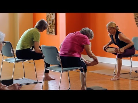 45 Minute Chair and Mat Yoga Class - Kate Doran