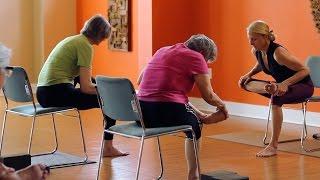 chair yoga for the lower body Видео из игры Майнкрафт