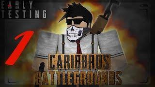 ROBLOX Battlegrounds #1: first match and second place