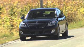 MotorWeek Road Test 2014 Hyundai Equus смотреть