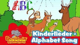 Benjamin Blümchen - Alphabet Song LIEDER FÜR KINDER auf ENGLISCH mit TEXT zum Mitsingen