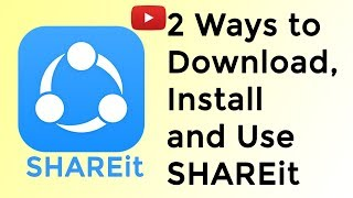 Gambar cover 2 Ways to Download and Install SHAREit on Windows | In Hindi | | How to Transfer File Using SHAREit