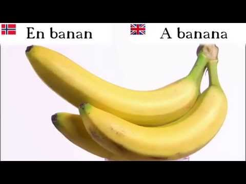 Fruits in Norwegian  | Learn Norwegian Vocabulary