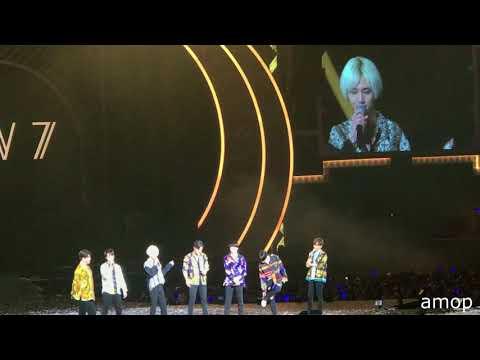 180401 SuperJunior SS7 in Taipei - Ending talk (Sing Birthday)