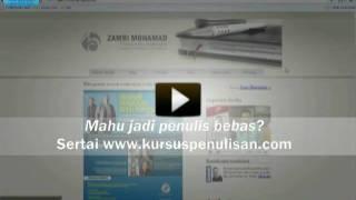 Vlog (5) Kursus Penulisan | Tip Google Site