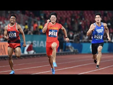 100m Final Asian Games 2018 Chinese Usian Bolt