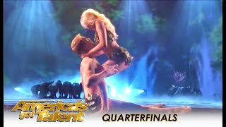 Zurcaroh: Best Dance Group RECREATE Adam & Eve In Heaven! | America's Got Talent 2018