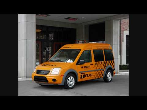 2011 Ford Transit Connect Electric Taxi Editions First On Youtube