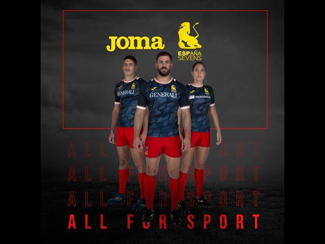 Camiseta Selección Española Rugby 7