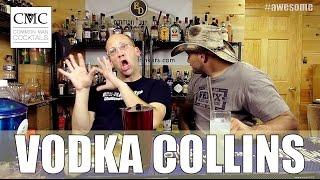 Vodka Collins, With Cardamom Improvement