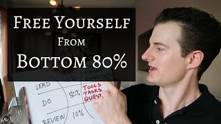 80/20 Rule: Free Yourself from Bottom 80%