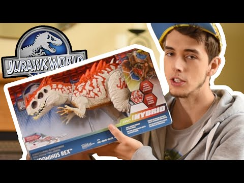 Indominus Rex HYBRID RAMPAGE SERIES - Hasbro Review and Unboxing