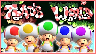 Move Over Mario, It's TOAD'S Turn To Save The World!!!