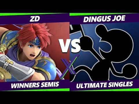 Smash Ultimate Tournament - ZD (Roy) Vs. Dingus Joe (Game & Watch) S@X 320 SSBU Winners Semis