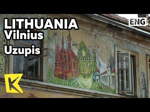 【K】Lithuania Travel-Vilnius[리투아니아 여행-빌뉴스]예술인 마을, 우주피스/Uzupis/Artist Village