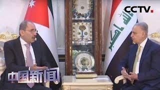 [中国新闻] 约旦外长萨法迪访问伊拉克讨论缓和地区局势 | CCTV中文国际